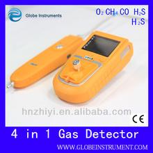 Lastest model coal gas alarm detector and alarm for petroleum H2S = 0-100 ppm