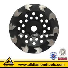 EN 13236 Arrow Metal Bond 250mm Diamond Grinding Disc for Concrete