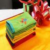 Factory Sale Cheap Face Towel Cotton Embroidery Face Towel