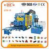 Large scale high production concrete brick machinery, Hongfa QT6-15 fully automatic hydraulic pressure concrete brick machine