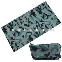dusty blue camouflage printting headwear