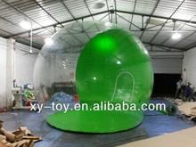Família claro gramado inflável tenda / tenda bolha inflável / barato tenda gramado inflável