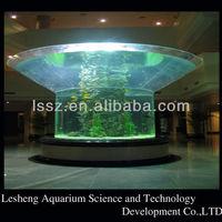 Big cylinder Acrylic Aquarium,Round Fish Tank