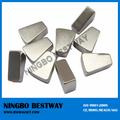 Setor magnet/neodímio curvo imãs/ndfeb curvo magnet