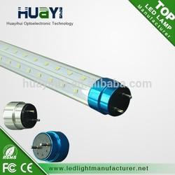 UL list High brightness LED lamp 2ft, 3ft, 4ft,5ft,6ft,8ft T8 LED Tube Lights 360 degree rotating directly from Shenzhen Factory