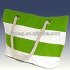 wholesale ladies Two-tone canvas tote bag