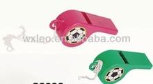 samba whistle,plastic football whistle,promotional sports cheering whistle