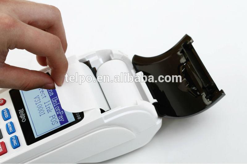 2014 TPS300 Handheld eft gsm sim bank pos system