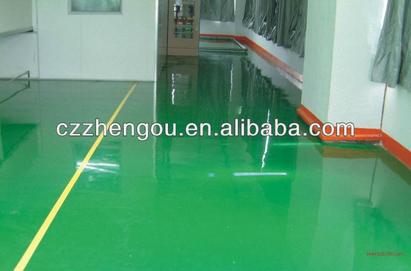 Zhengou Diamond Hardness Industrial Epoxy Concrete Floor Coatings