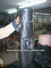 Top quality Cow Leather Golf bag .golf bag. bag, black leather bag , two pocket bags,