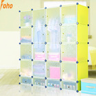 DIY wardrobe closet with PP plastic material (FH-AW0451640-20)