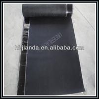 Breathable waterproofing membrane roofing underlayment