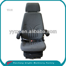 new heavy duty construction vehicle seats with armrest