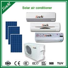 High performance 100% solar powered split air conditioner