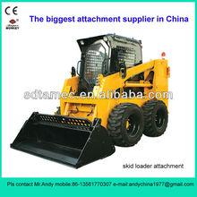 4 in 1 bucket for skid loader (skid loader attachment,bobcat attachment)