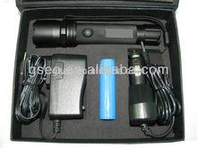 ZOOM Rechargeable LED Flashlight