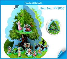 Paper tree kids cardboard houses for sale