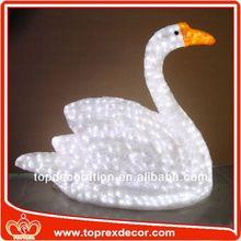 LED Lighted christmas decoration fiber glass stool