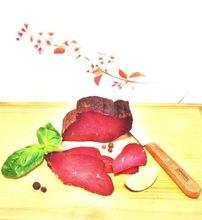 Pastirma smoked beef Halal