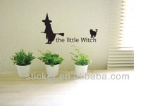 Custom Popular PVC wall sticker home decor halloween