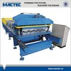 Roof steel profile roll forming machine
