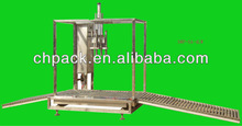 high precision 4 heads semi- auto weighing liquid filling machine