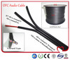 3*0.14mm2 Black Speak Audio Cable For Audio and Speaker Wire