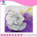 Artificial flores de papel mini buquês de casamento( bfcm- 02)