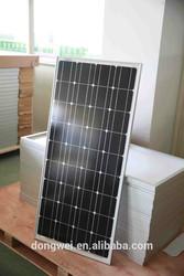 TUV CE certificate High quality solar panel module,China factory 100W monocrystalline solar panel