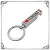 custom souvenir metal bottle opener keyring