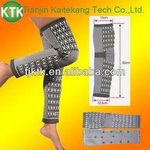 Four way elastic comfortable cotton long knee brace KTK-S001LE
