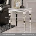 Sala açoinoxidável móveis lado da mesa mesa de canto 874#