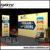Aluminum modular trade show display booth with exhibit service construction