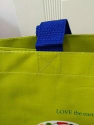2014 cheap reusable pp woven shopping bag made in china