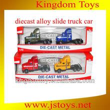 Barato diecast caminhão de brinquedo, 1/72 decast caminhão, Carro fundido para slae