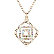 11017 charm semi-precious stone necklace hanger