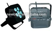 promotion battery led par can decorative uplighting 6*18w 6 in 1 led wireless par battery uv