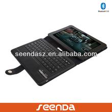 Detachable Bluetooth keyboard folio case for kindle fire 8.9 inch