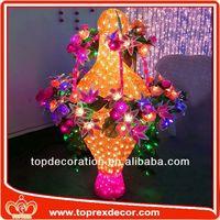 Festival flower vas decoration