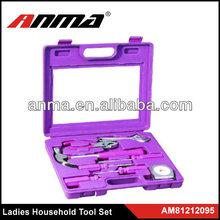 8pc pink tool set /promotional tool set/ supermarket lady tool