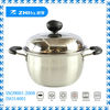 Zhifa Hot sale stainless steel soup pot/stainless pot/steel pot