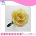 เทียมตกแต่งบ้านดอกไม้สีเหลืองดอกกุหลาบกับลำต้น( sfcg- 11