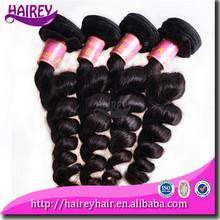 Top 5A cheap guangzhou virgin brazilian hair natural wavy extension