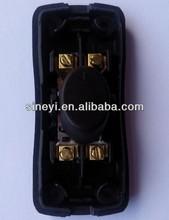 DIY 2-pole rocker switch t85 double-cut single switch mini design board livolo electric switch