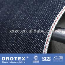 NFPA 2112 Cotton Flame Retardant Denim Fabric For Bib Coverall/Cargo pants/Jean