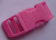 """Hot sale 1/2"""" colored plastic curved side release buckle"""