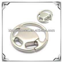 custom metal steering wheel key rings