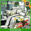 3d duvet cover set/massage bed sheets/wholesale sheet sets cotton