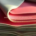 Impacto- material de resistência, soft tecido de borracha neoprene folha, neoprene de poliéster laminado de tecido de microfibra de folha