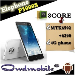 China smartphone with Android 4.4 octa core Mtk6592 Elephone P3000s